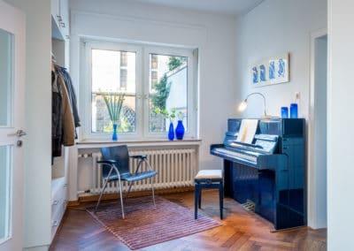 Entree und Musikzimmer