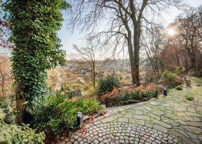 Gartenterrasse mit Weitblick