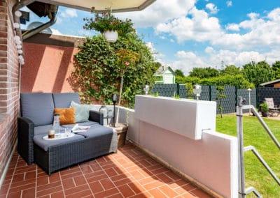 Gartenterrasse mit Lounge